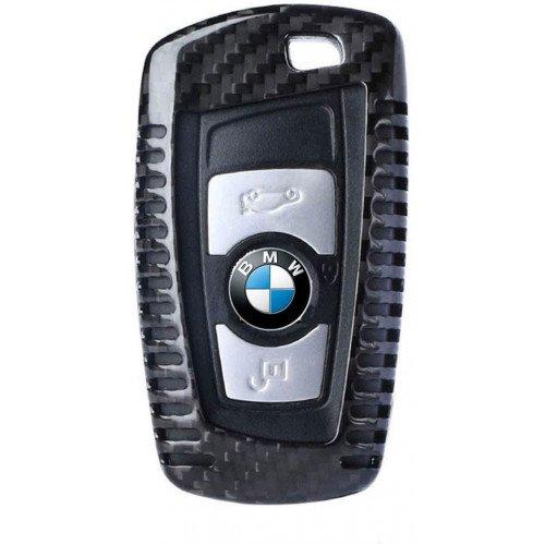 Husa Cheie BMW Seria F Vetter Carbon, Glossy Black