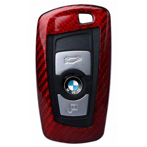 Husa Cheie BMW Seria F Vetter Carbon, Glossy Red