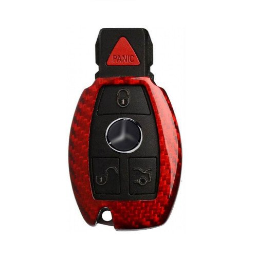 Husa Cheie Mercedes-Benz W203, W210, W211 Vetter Carbon, Glossy Red