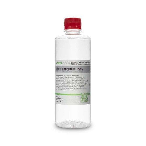 Rezerva aparat de igienizare cu pulverizare prin inductie (alcool izopropilic 70%), 500 ml