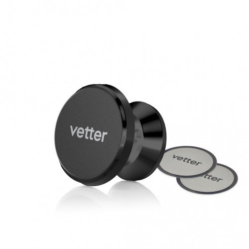 Suport Auto Magnetic cu Adeziv Vetter with Swivel Ball, Black