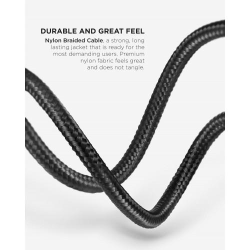 Cablu de date si incarcare Vetter Smart Type-C, Auto Disconnect, 1.2m