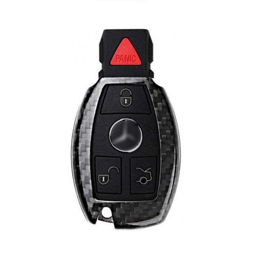 Husa Cheie Mercedes-Benz W203, W210, W211 Vetter Carbon, Glossy Black