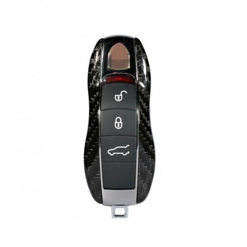 Husa Cheie Porsche 3 Butoane Vetter Carbon, Glossy Black