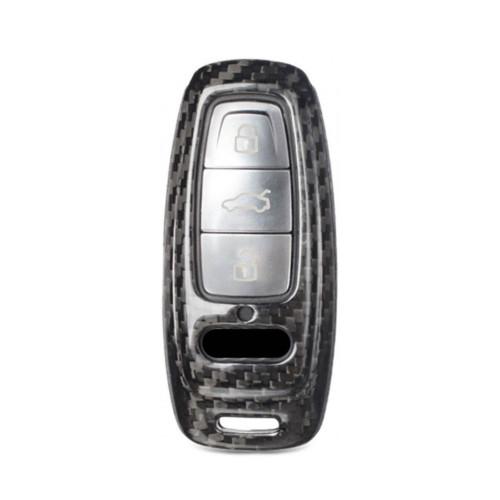 Husa Cheie Audi A8, A6, A7 Vetter Carbon, Glossy Black