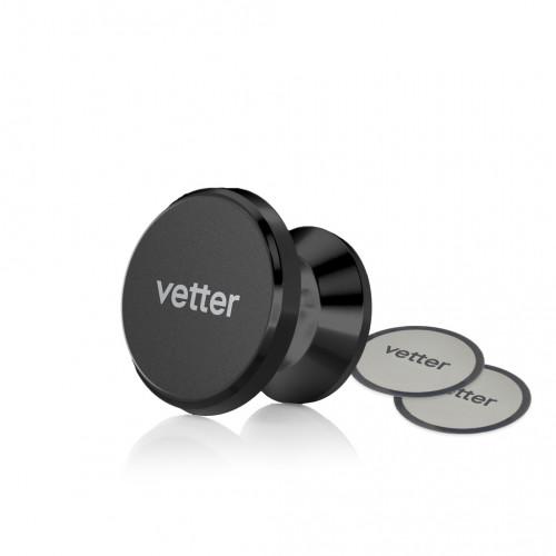 Suport Auto Magnetic cu Adeziv Vetter with Swivel Ball,Black