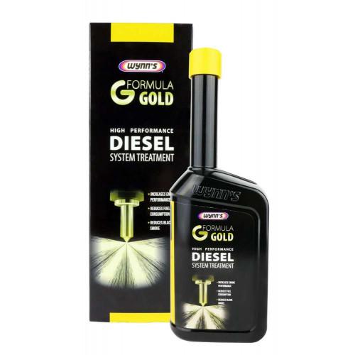 Solutie Curatare Sistem Injectie Wynns Formula Gold Diesel System Treatment, 500ml