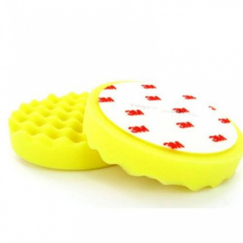 Burete Polish Mediu 3M Perfect-it III Polishing Pad,Galben,75mm