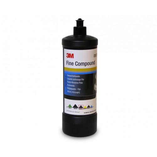 Pasta Polish Mediu-Abraziv 3M Fine Compound,Negru,1L