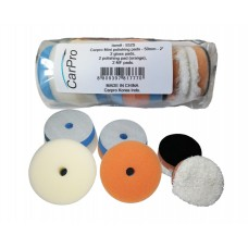 "Kit Bureti Polish CarPro 2"" Mini Polishing Pads Kit Pack, 50 mm"