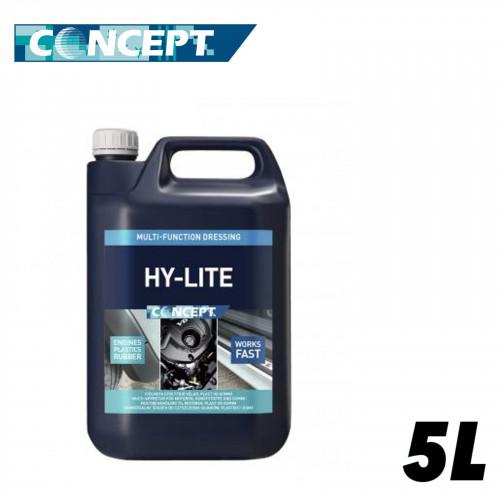 Solutie Curatare & Intretinere Plastice Exterioare Concept Hy-Lite,5L