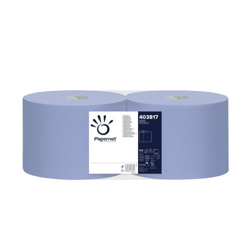Rola hartie industriala Papernet 3 straturi, 500 portii, Set 2 role