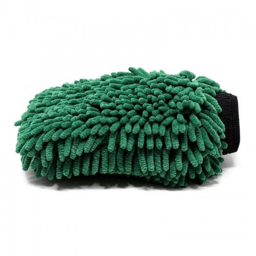 Manusa Microfibre Spalare Auto Pro Detailing Chenille,Verde