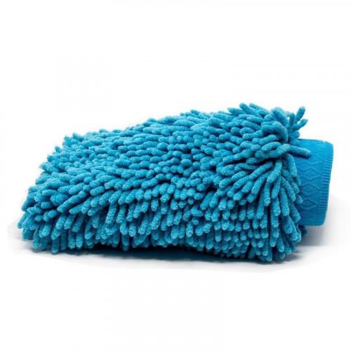Manusa Microfibre Spalare Auto Pro Detailing Chenille,Albastru