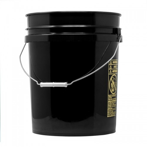 Galeata Spalare Auto Pro Detailing Grit Guard Bucket 19 litri,Negru