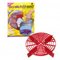 Scratch Shield Red Grit Guard Reglabil, Rosu