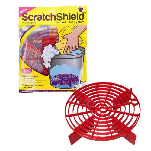 Scratch Shield Red Grit Guard Reglabil,Rosu