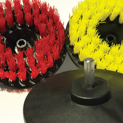 Set Perii Mocheta Pro Detailing Carpet Brush, Adaptor Bormasina