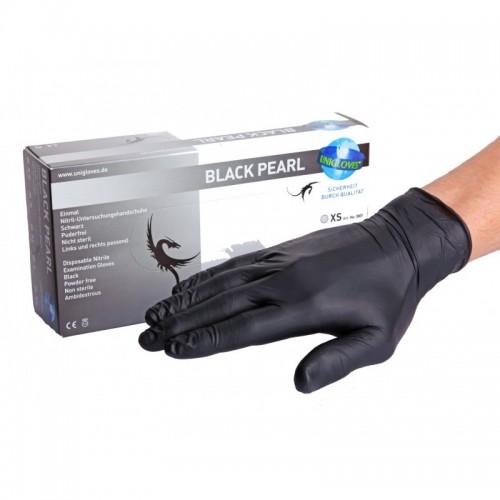 Unigloves Black Pearl Manusi Nitril