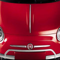 Fiat 500 Chrome Bonnet Line - Ornament Crom Capota