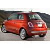 Fiat 500 Rear Chrome Bumper Protection - Protectie Bara Spate Crom