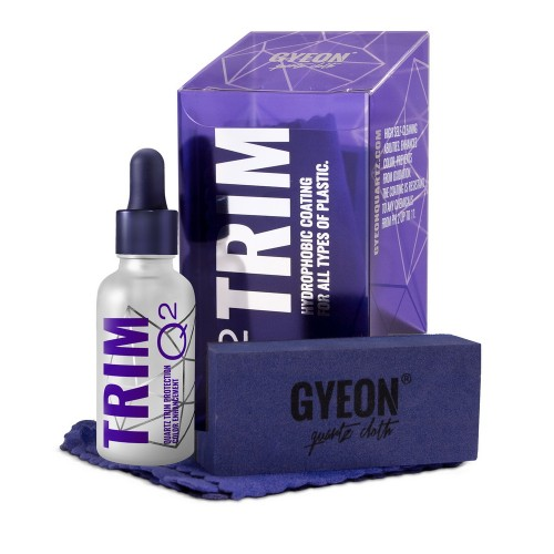 Gyeon Q2 Trim 30ml Kit - Protectie Plastice Exterioare