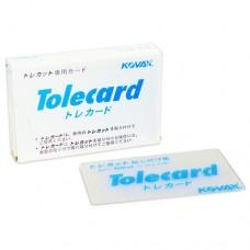 Kovax Tolecard - Tampon Slefuire Manuala 66 x 110mm