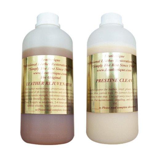 Kit Leatherique Rejuvinator Oil & Prestine Clean, 1L
