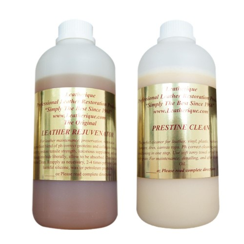 Kit 1L Rejuvinator Oil & Prestine Clean