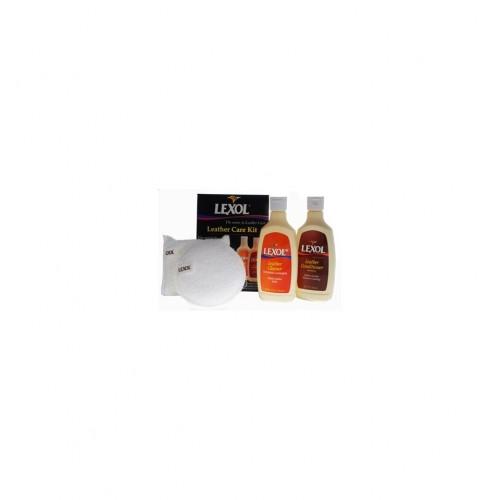 Kit Curatare & Intretinere Piele Lexol Leather Care Kit,236ml