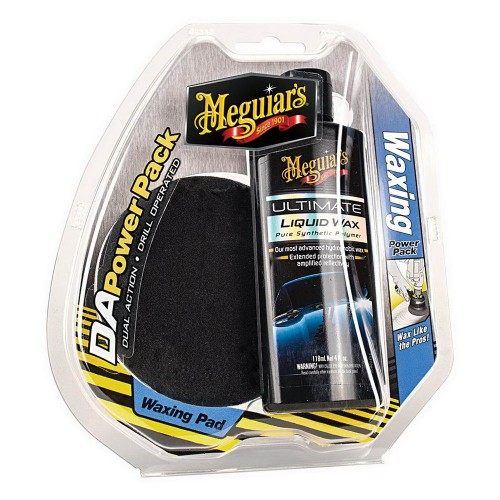 Set Ceruire Meguiars DA Waxing Power Pack