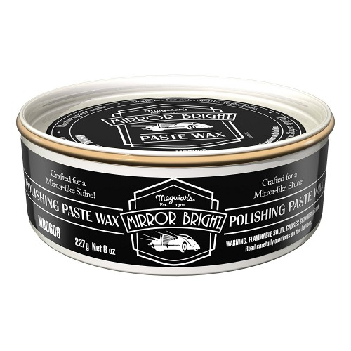 Ceara Auto Meguiars Mirror Bright Polishing Paste Wax,227g
