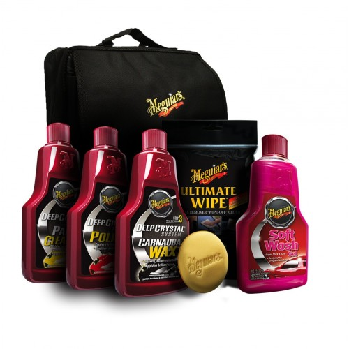 "Kit Aniversar Meguiar's ""Gerannikit"" Car Care 110-Year Anniversary Edition"