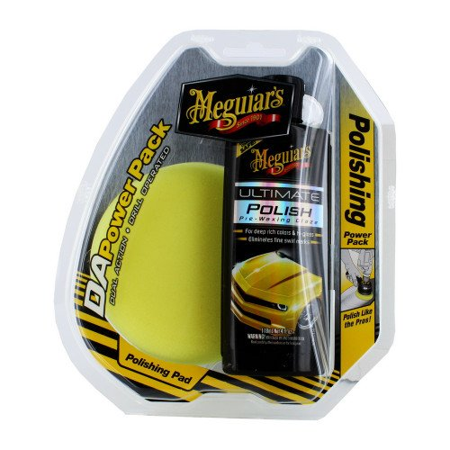 Set Polish Meguiars DA Polishing Power Pack