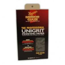 Meguiar's Unigrit Finishing Papers 2500 Grit - Smirghel 2500