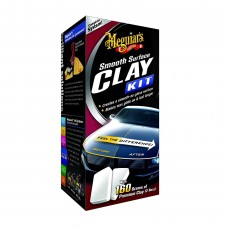 Meguiar's Smooth Surface Clay Kit - Kit Decontaminare Vopsea
