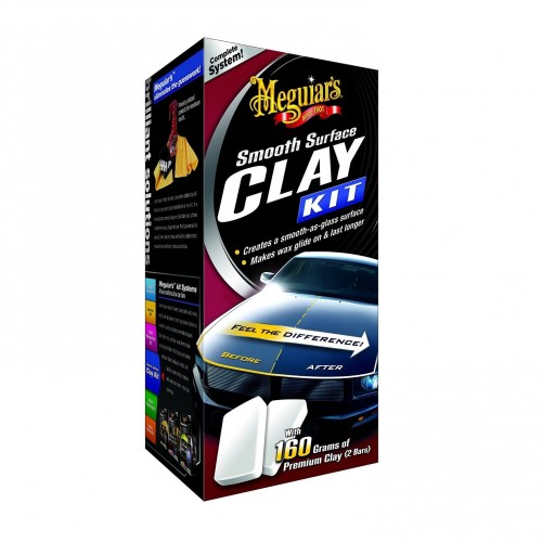 Meguiars Smooth Surface Clay Kit - Kit Decontaminare Vopsea