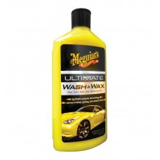 Meguiar's Ultimate Wash & Wax - Sampon Auto cu Ceara, 473ml