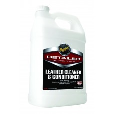 Solutie Curatare & Intretinere Piele Meguiar's Leather Cleaner & Conditioner, 3.78L