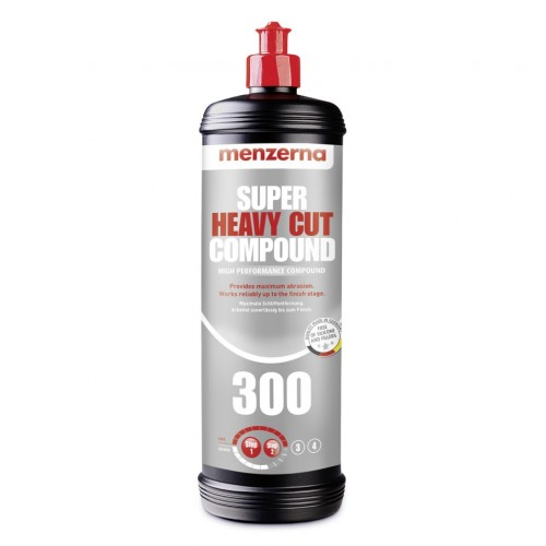 Menzerna Super Heavy Cut Compound 300 (SHCC300) - Pasta Abraziva Polish 1L