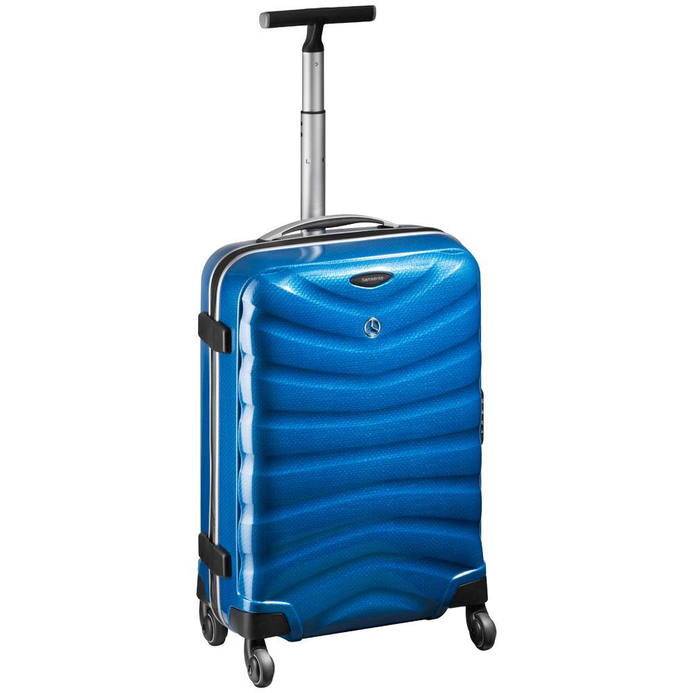 Troller voiaj mercedes benz suitcase spinner 55 albastru for Mercedes benz suitcase