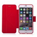Momax Smart Case Husa Flip iPhone 6 Plus, Red