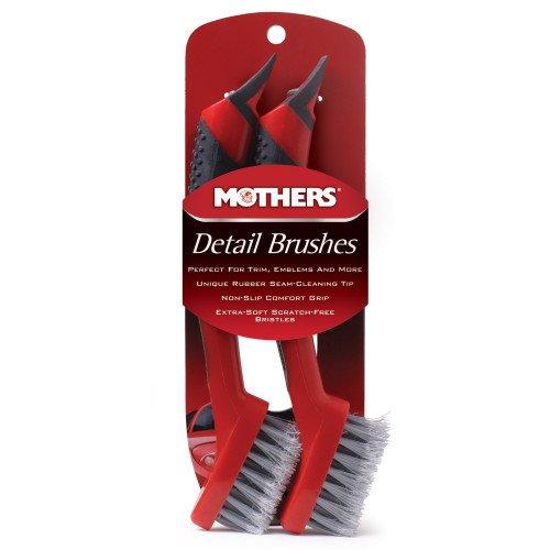 Set 2 Perii Detailing Mothers Detail Brushes