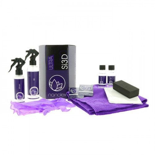 Kit Protectie Ceramica Nanolex Si3D Ultra Set, 30ml