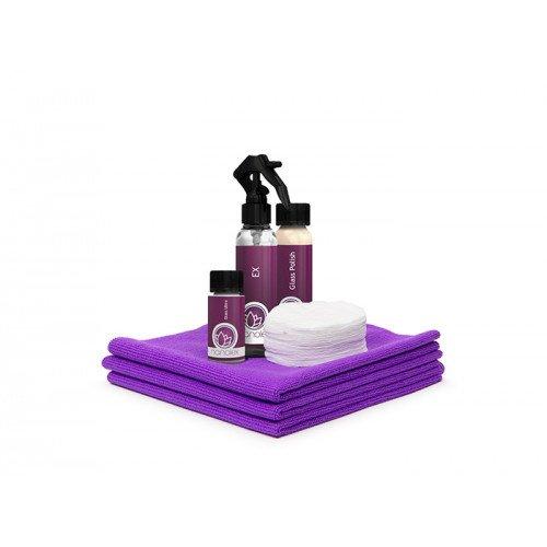 Kit Tratament Hidrofob Geamuri Nanolex Ultra Glass Sealant