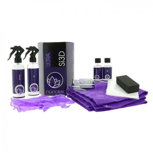Kit Protectie Ceramica Nanolex Si3D Ultra Set,50ml