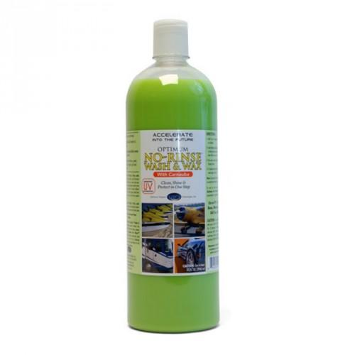 Optimum No Rinse Wash & Wax,950ml
