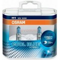 Osram Bec Far Halogen Cool Blue Intense H1, 55 W, 12 V, P14.5s Set 2buc