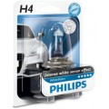 Philips Bec Far White Vision H4, 60/55 W, 12 V, P43t-38