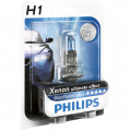 Philips H1 Blue Vision Ultra 12V 55W - Bec Auto Far Halogen